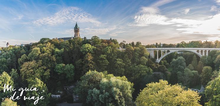 Balcón de Europa Luxemburgo