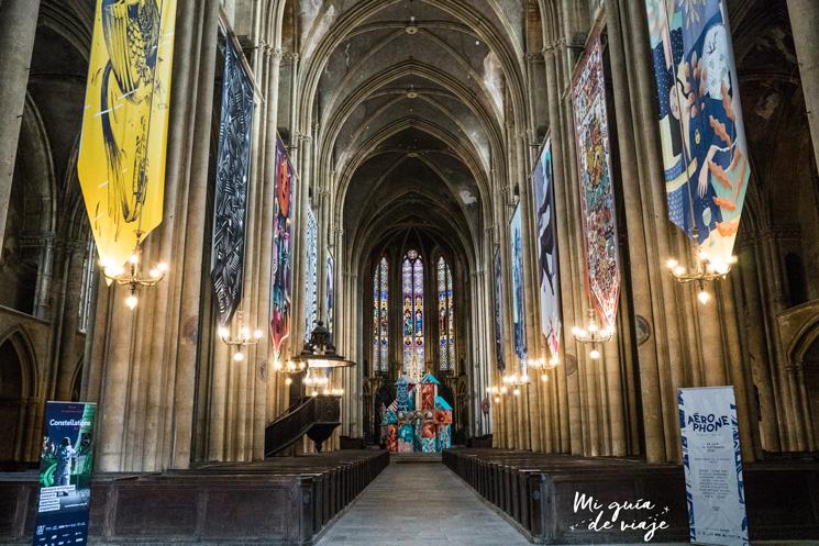 Basílica de San Vicente (Basilique Saint-Vincent) de Metz