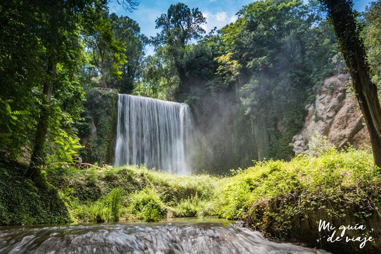 Cascada La Caprichosa Monasterio de Piedra