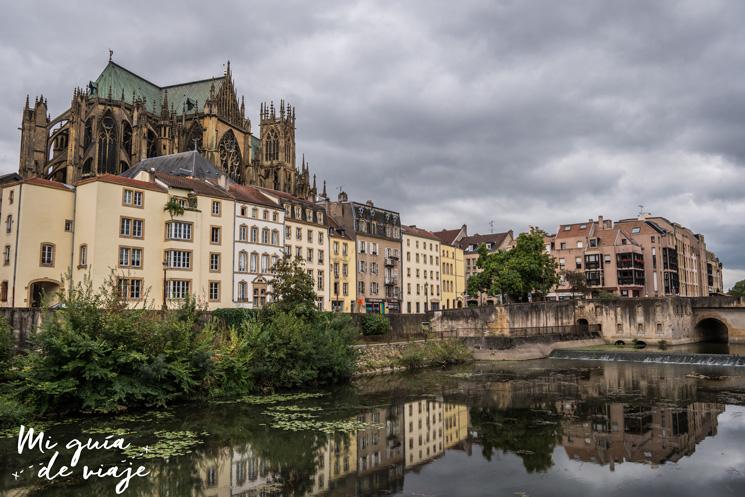 Catedral San Esteban Metz Panorámica