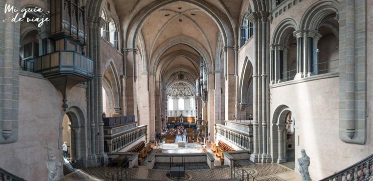 Interior de la Catedral de Trier