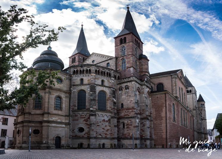 Catedral de Trier, vista posterior