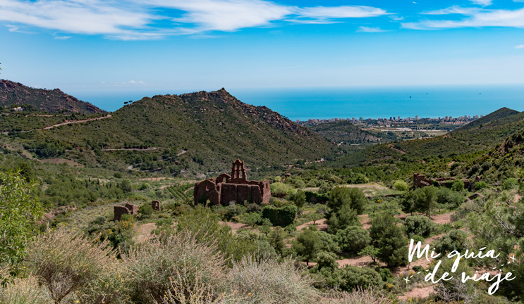 Antiguo monasterio de Carmelitas en Desierto de las Palmas