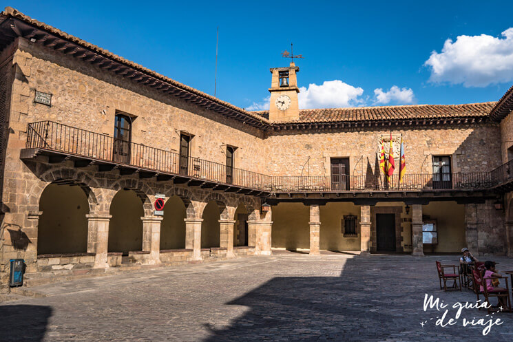 Plaza Mayor de Albarracín