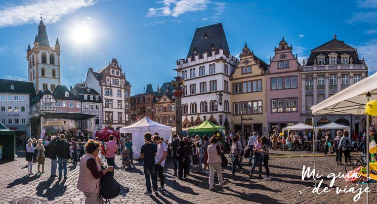 Plaza del Mercado de Trier