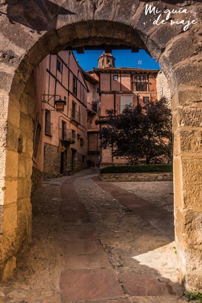 Portal del Agua en Albarracín