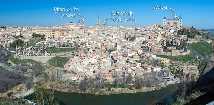 Que se ve desde el Mirador de Toledo
