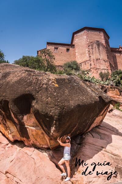 Sujetando la Roca Grossa en Vilafamés