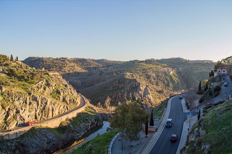 Vistas Mirador del Alcázar en Toledo