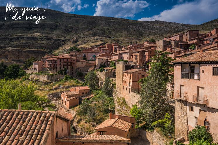 Vistas de Albarracín desde el Mirador Rincón del Abanico