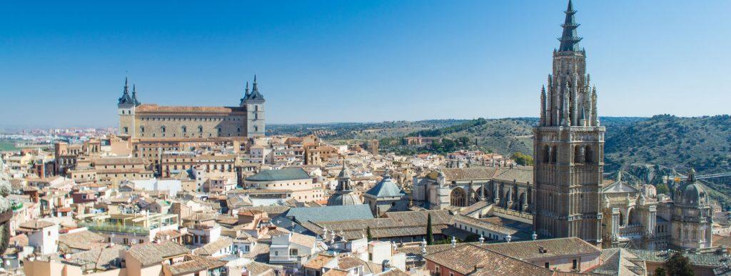 Vistas de Toledo desde Iglesia Jesuitas Ildefonso